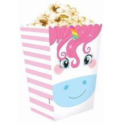 """Pudełka na popcorn """"Tęczowy Jednorożec"""""""