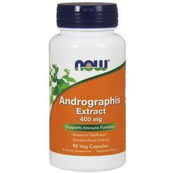 Now Foods Andrographis extract 400mg 90 kaps.