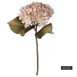SELSEY Sztuczny kwiat Ilmur Hortensja 50 cm różowa