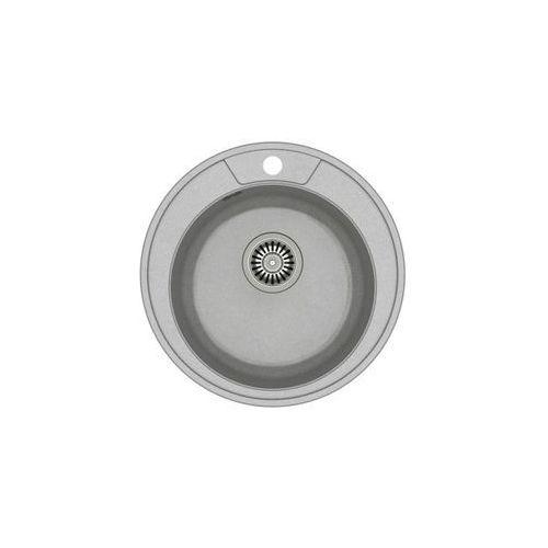 Zlew granitowy ze stalowym syfonem danny 210 marki Quadron