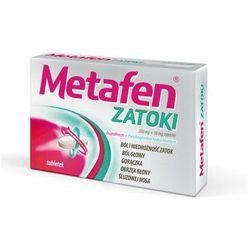 METAFEN ZATOKI x 10 tabletek