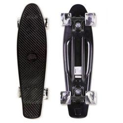 Penny board deskorolka typu fiszka marki Street Surfing Beach Board, Wipeout, czarny