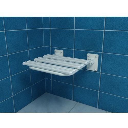 Makoinstal Krzesełko prysznicowe uchylne mocowane do ściany kp3