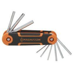 Klucze imbusowe Magnusson składane 9 szt.