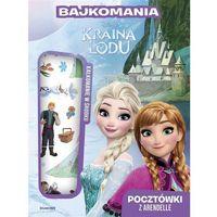 Książki dla dzieci, Bajkomania. Kraina Lodu. Pocztówki z Arendelle (opr. miękka)