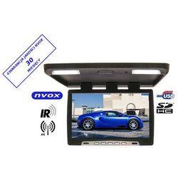 "NVOX RF2289U BL Monitor podwieszany podsufitowy LCD 22"" cale LED USB SD IR FM 12/24V"