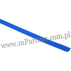 Rura termokurczliwa elastyczna V20-HFT 3,5/1,8 niebieska