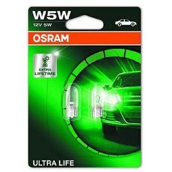 OSRAM W5W 12V 5W W2,1x9,5d ULTRA LIFE® (do 3 razy dłuższa trwałość)