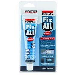 Soudal Klej Uszczelniacz Fix All CLASSIC 80 ml- biały
