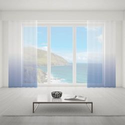 Firana na wymiar do pokoju - NAVY BLUE - KOLOR 150 CM