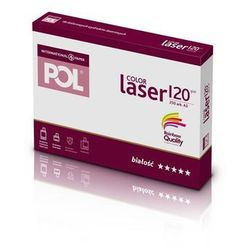 Papier xero A3 PolColor Laser 120g. biały