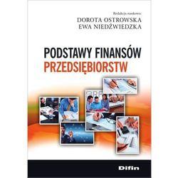 Podstawy finansów przedsiębiorstw (opr. broszurowa)
