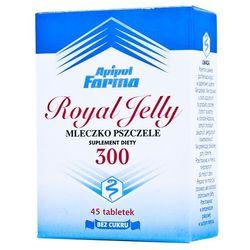 Mlecz.pszcz.ROYAL JELLY 300 mg tabl.do ssania - 45 tabl.