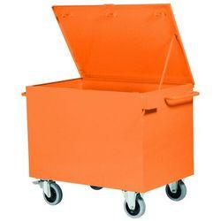 Wózek Narzędziowy Warsztatowy, 400 L. Pomarańczowy