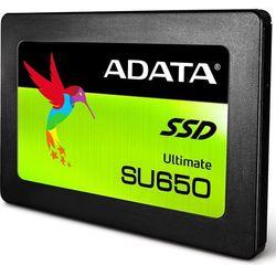 """Dysk SSD 240 GB ADATA SU650 ASU650SS-240GT-R 2.5"""" SATA III- natychmiastowa wysyłka, ponad 4000 punktów odbioru!"""