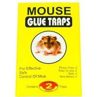 Środki na szkodniki, Pułapka na myszy klejowa, lep na myszy. Mouse Glue Traps 2 szt.