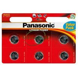 Bateria litowa, CR2032, 3V, Panasonic, blistr, 6-pack, cena za 1 baterie