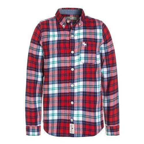 Koszule dla dzieci, Abercrombie & Fitch COZY PLAID Koszula red