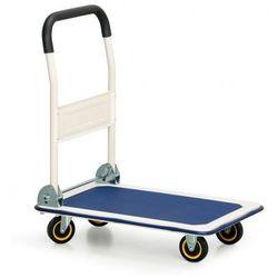 Składany wózek platformowy, 300 kg, platforma 910x610 mm