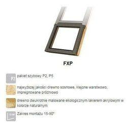 Okno dachowe FAKRO FXP P5 134x88 antywłamaniowe 3-szybowe nieotwierane
