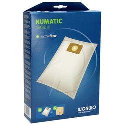 NMB01K Worki Perfect Bag (4szt.) + filtr wlotowy do odkurzacza