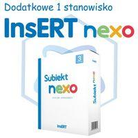 Programy handlowo-księgowe, InsERT Subiekt Nexo - rozszerzenie na dodatkowe 1 stanowisko