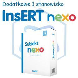 InsERT Subiekt Nexo - rozszerzenie na dodatkowe 1 stanowisko