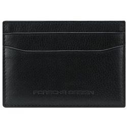 Porsche Design Business Etui na karty bankowe RFID skórzana 10 cm black ZAPISZ SIĘ DO NASZEGO NEWSLETTERA, A OTRZYMASZ VOUCHER Z 15% ZNIŻKĄ