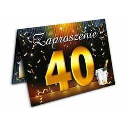 Zaproszenie na 40 urodziny + koperta 1 sztuka ZX6800