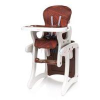 Krzesełka do karmienia, 4Baby Krzesełko do karmienia FASHION brązowe