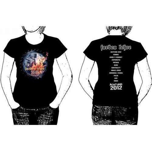 T-shirty damskie, Achtung 2012 (xl * Koszulka Damska)