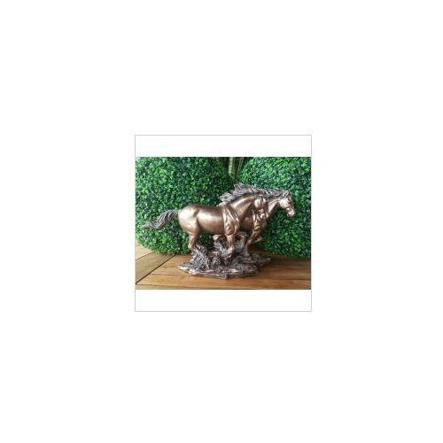 Rzeźby i figurki, WYJĄTKOWA RZEŹBA - KONIE W GALOPIE- VERONESE (WU75251A4)