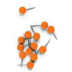Pinezki do tablic NOBO, 100szt. pomarańczowe