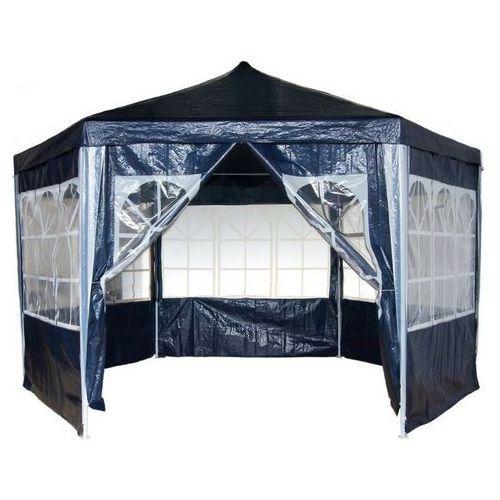 Namioty ogrodowe, PAWILON NAMIOT OGRODOWY HANDLOWY 6 ŚCIANEK - Niebieski 2451 (-24%)