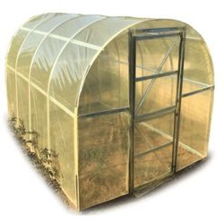 Tunel Omega foliowy ogrodowy szklarnia 2x3 stal ocynk.
