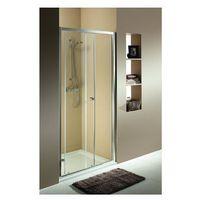 Drzwi prysznicowe, KOŁO FIRST Drzwi prysznicowe 100cm, profile srebrny połysk, szkło satyna ZDDS10214003