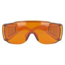 Okulary ochronne UV 100% (pomarańczowe)