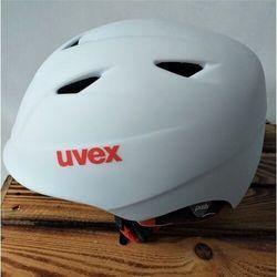 UVEX kask narciarski dziecięcy Airwing 2 pro - white-red mat (54-58 cm)