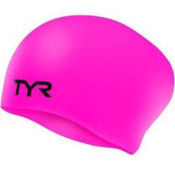 TYR Wrinkle-Free Long Hair Czepek pływacki różowy 2018 Czepki Przy złożeniu zamówienia do godziny 16 ( od Pon. do Pt., wszystkie metody płatności z wyjątkiem przelewu bankowego), wysyłka odbędzie się tego samego dnia.