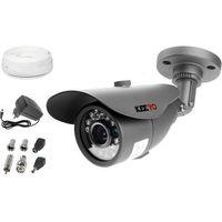 Zestawy monitoringowe, Zestaw do monitoringu: Kamera LV-AL20MT, Zasilacz, Przewód, Akcesoria podgląd na TV