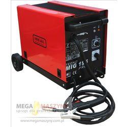 IDEAL Półautomat spawalniczy MIG/MAG/FLUX TECNOMIG 195 PRO