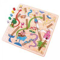 Gry dla dzieci, Klasyczna drewniana gra Węże i drabiny