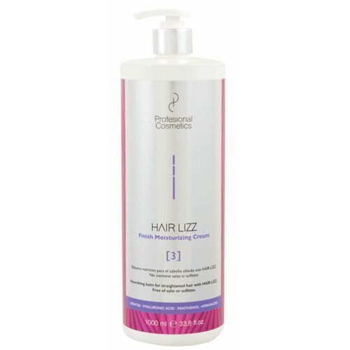 Inne kosmetyki do włosów, Profesional Cosmetics HAIR.LIZZ 3 FINISH MOISTURIZING CREAM Nawilżający krem do włosów
