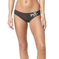 Stroje kąpielowe, Fox Live Fast Btm Fixed dół bikini Kobiety, black vintage L 2019 Kąpielówki