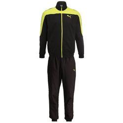 Puma EVOSTRIPE SET Dres puma black/energy yellow