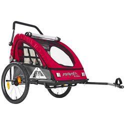Red Cycling Products PRO Kids BikeTrailer Przyczepka dziecięca, red/grey 2019 Przyczepki dla dzieci Przy złożeniu zamówienia do godziny 16 ( od Pon. do Pt., wszystkie metody płatności z wyjątkiem przelewu bankowego), wysyłka odbędzie się tego samego dnia.