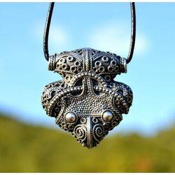 Zawieszka wikingów młot Thora Sigtuna, Szwecja srebro 925, 10g FGJ130
