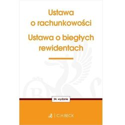 Ustawa o rachunkowości oraz ustawa o biegłych rewidentach - książka