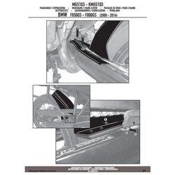 KAPPA KMG5103 BŁOTNIK TYLNY BMW F650/700/800GS '08-13 czarny