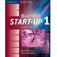 Książki do nauki języka, Business start-up 1 student's book (opr. miękka)